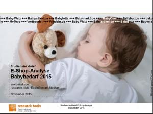 E-Shop-Analyse Babybedarf 2015