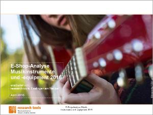 E-Shop-Analyse Musikinstrumente und -equipment 2016-72