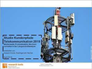 Studie Kundenpfade Telekommunikation 2019 Research Tools