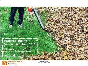 Studie eVisibility Gartenmaschinen 2017