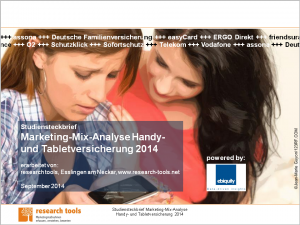 Studiensteckbrief_Marketing-Mix-Analyse Handy- und Tabletversicherung 2014