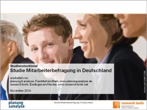 Studiensteckbrief_Studie Mitarbeiterbefragung in Deutschland