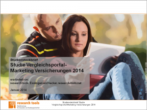 Studiensteckbrief_Studie Vergleichsportal-Marketing Versicherungen 2014