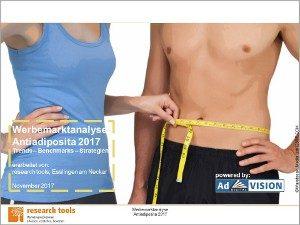 Werbemarktanalyse Antiadiposita 2017