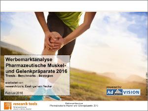 Werbemarktanalyse Pharmazeutische Muskel- und Gelenkpräparate 2016-72